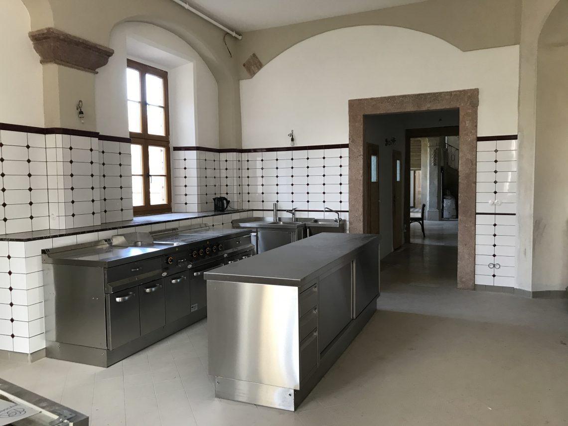 Küche Schloss